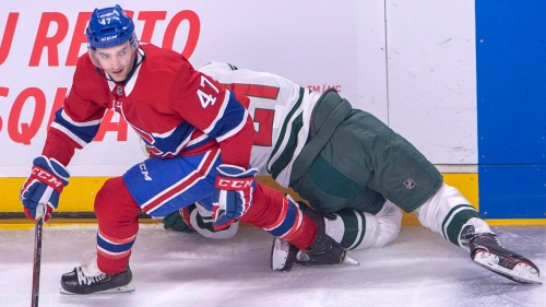 Canadiens lose forward Kenny Agostino on waivers to Devils