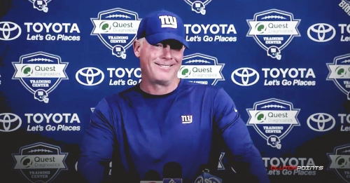 Giants' Pat Shurmur makes new additions to New York coaching staff