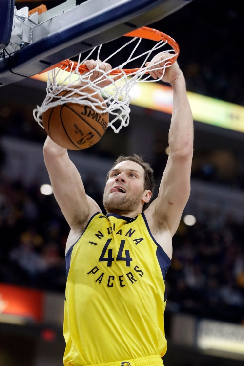 Bojan Bogdanovic of Indiana Pacers wins NBA weekly honor