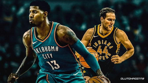 Thunder's Paul George, Pacers' Bojan Bogdanovic named NBA Players of the Week
