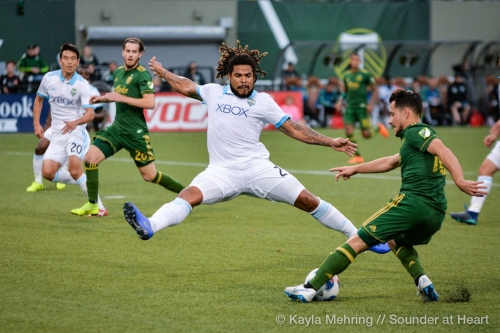 Román Torres not currently with Sounders in Arizona