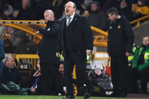 Newcastle United boss Rafa Benitez had this to say on Willy Boly's Wolves equaliser