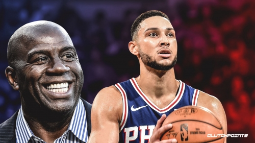 Lakers issue statement on Sixers' Ben Simmons, Magic Johnson