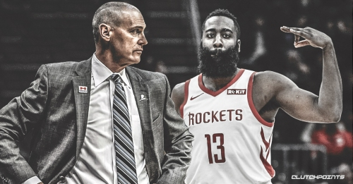 Mavs coach Rick Carlisle says Rockets' James Harden 'is playing a different game than the rest of us are playing'