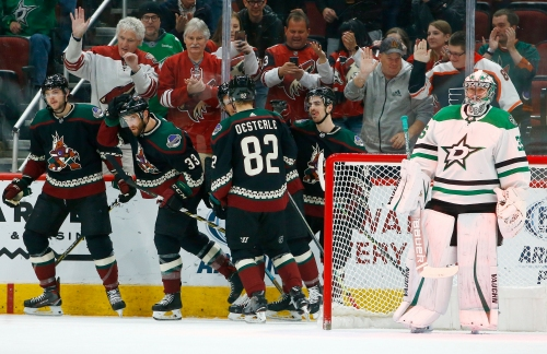 Alex Galchenyuk, special teams help Coyotes snap losing streak against Stars