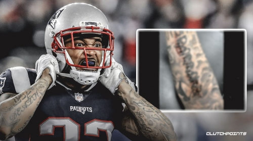 Patriots' Patrick Chung shares grotesque image of his arm following surgery