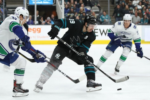 Sharks at Canucks: Lines, gamethread, and where to watch
