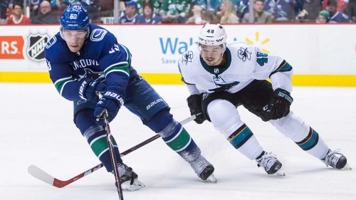 NHL Live Tracker: Canucks vs. Sharks