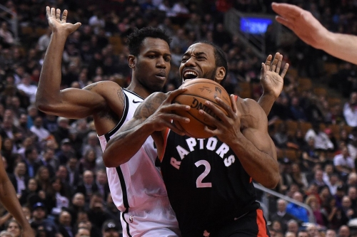Kawhi's clutch night dooms Nets in Toronto, 127-125