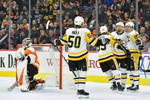 Penguins 4, Flyers 1: Way to win one, the refs