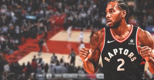 Video: Raptors' Kawhi Leonard banks in game-winning jumper vs. Nets