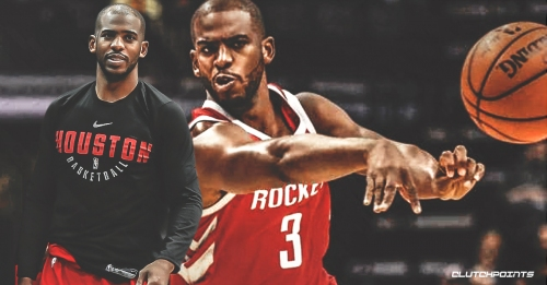 Rockets PG Chris Paul climbs to 8th spot on all-time assists list