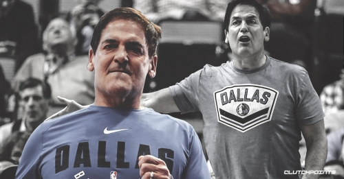 Mavs owner Mark Cuban comes out to court to argue call