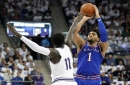 Dotson scores 25 as No. 14 Kansas wins 82-77 in OT at TCU