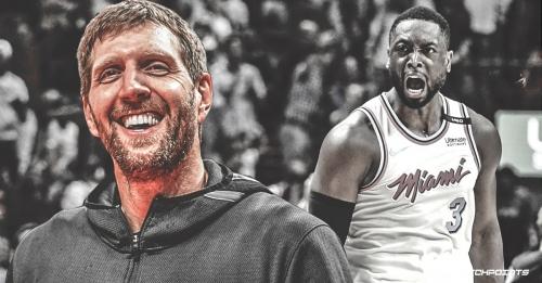 Mavs' Dirk Nowitzki willing to swap jerseys with Heat's Dwyane Wade