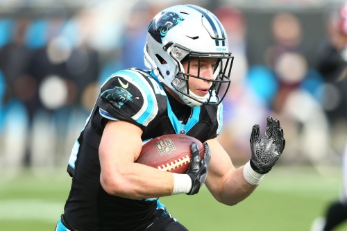 Christian McCaffrey had a solid 2018 as the focal point of the Panthers' offensive attack