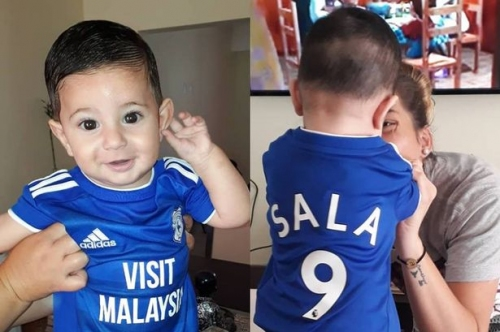 The moving pictures of Emiliano Sala's nephew as sister speaks of their grief