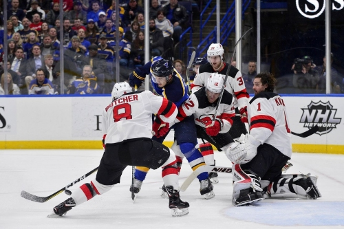 Game Preview: New Jersey Devils at the St. Louis Blues