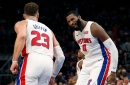 Here's how Pistons' Andre Drummond, Blake Griffin have formed dynamic duo