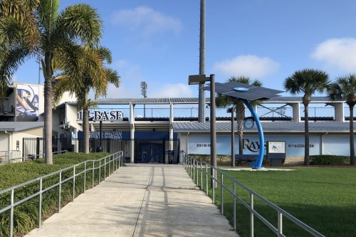 View from the Catwalk: Pitchers and Catchers report!