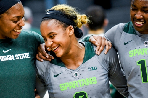 Shay Colley 'a beast' for Michigan State women's basketball in key victory over Indiana