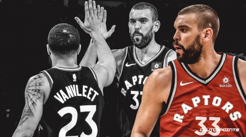 Marc Gasol encouraged by early jelling with Raptors sparked by his playmaking