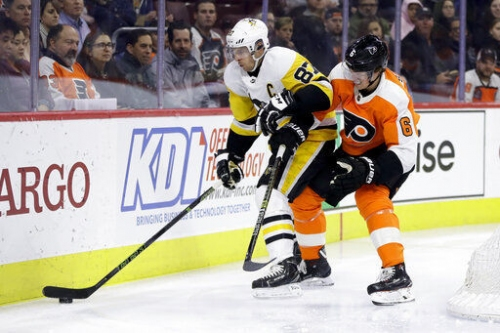 Prep beings for Flyers' Stadium Series game vs. Penguins