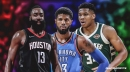 Giannis, Harden and Paul George are setting up incredible MVP race