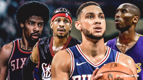 Report: Sixers' Ben Simmons sought out talks with Allen Iverson, Julius Erving, Kobe Bryant besides Lakers' Magic Johnson