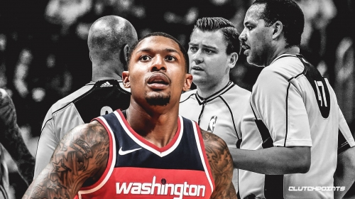 NBA Referees Twitter account claims Bradley Beal's seemingly blatant travel was actually legal