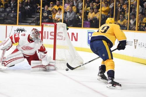 Detroit Red Wings vs. Nashville Predators Preview: Long Way to Go