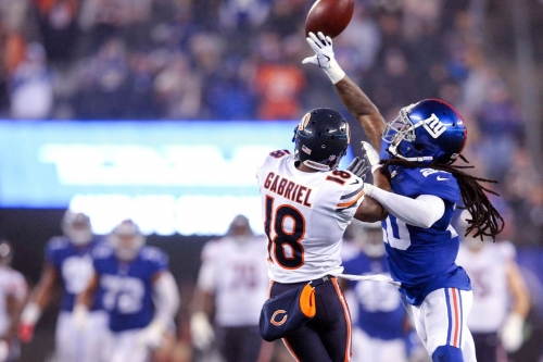 """Chicago Bears WR Taylor Gabriel: Playing Lions is """"easy W"""""""