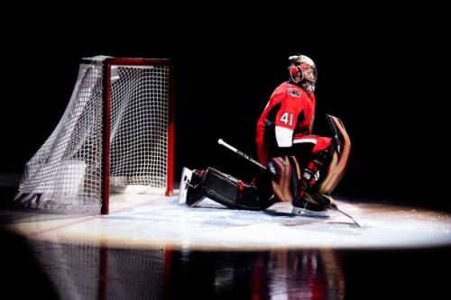 Ottawa Senators Craig Anderson Out With Eye Injury