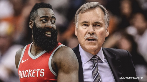 Mike D'Antoni 'pretty sure' James Harden will play for Rockets vs. Timberwolves