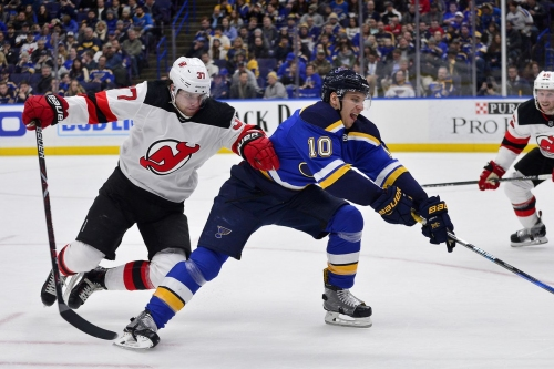 Devils at Blues Game Preview: Lucky number seven?
