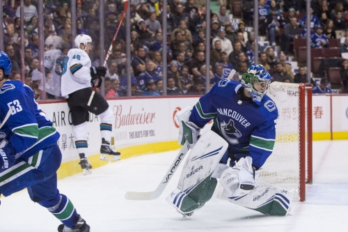 Quick Bites: DiPietro left out to dry against surging Sharks offense