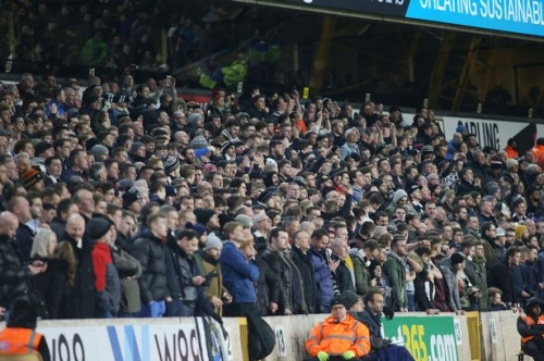 'You wish you had a big Willy' Molineux atmosphere rated as Wolves annoy Newcastle United