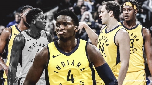 Pacers' Victor Oladipo growing, helping team in limited capacity despite season-ending injury