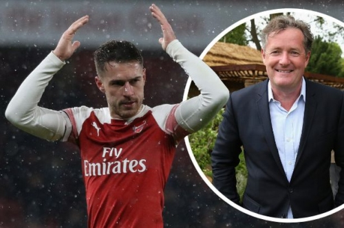 Piers Morgan is wrong, if anything Arsenal and Wales star Aaron Ramsey is the most UNDER-rated player in the world