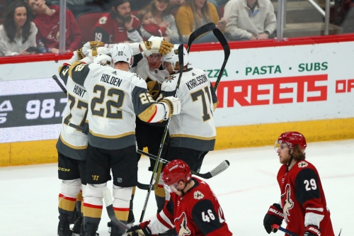 Gameday: Golden Knights look to bounce back against the Coyotes
