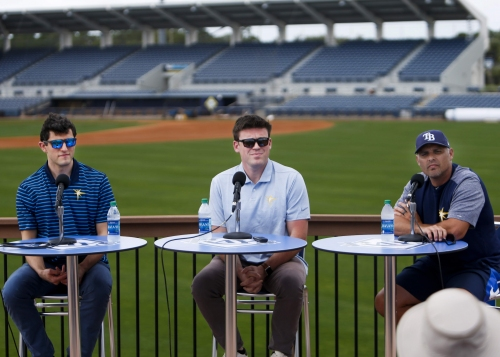 Five things we learned from the Rays' pre-spring training press conference