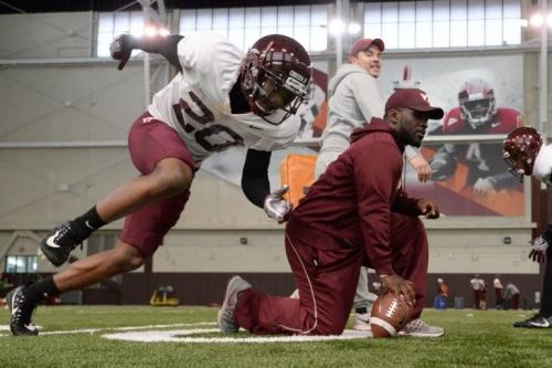 Virginia Tech defensive back D.J. Crossen suspended