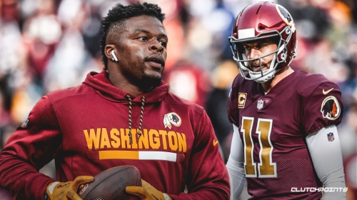 Redskins RB Chris Thompson admits that Alex Smith likely won't play in 2019