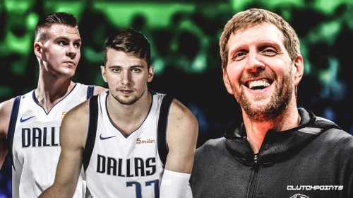 Mavs legend Dirk Nowitzki thinks Luka Doncic, Kristaps Porzingis are 'going to be great together'
