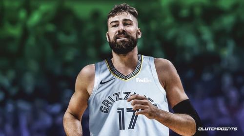 Jonas Valanciunas cleared for Grizzlies debut