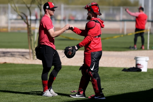 Cincinnati Reds manager David Bell is spending his time team building