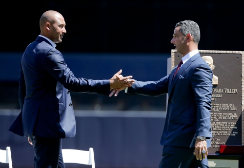 Jorge Posada to join Derek Jeter in Miami Marlins' front office, report says