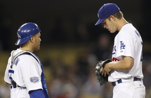 Russell Martin, Clayton Kershaw reunite as Dodgers spring training begins