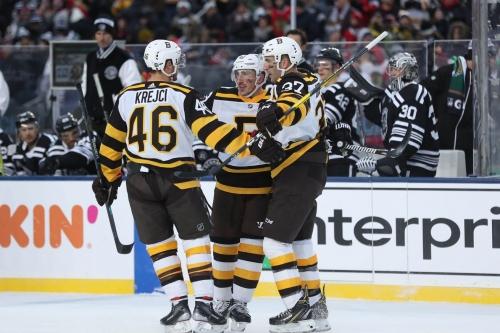 Public Skate: Blackhawks at Bruins, 7PM