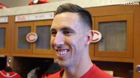 Cincinnati Reds pitcher Michael Lorenzen could play in outfield at end of spring training